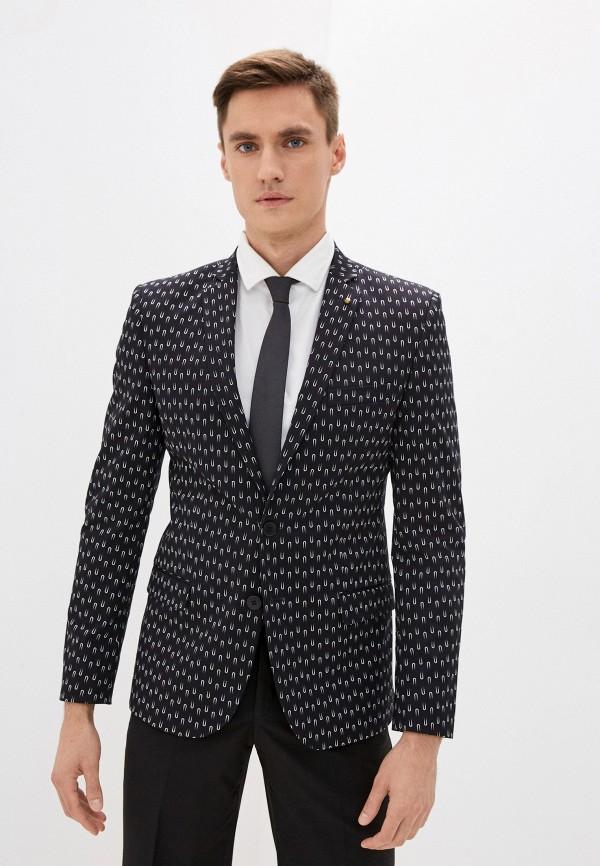 мужской пиджак bazioni, черный