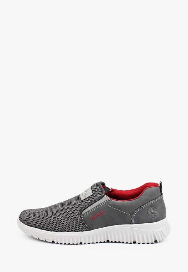 мужские низкие кроссовки rieker, серые