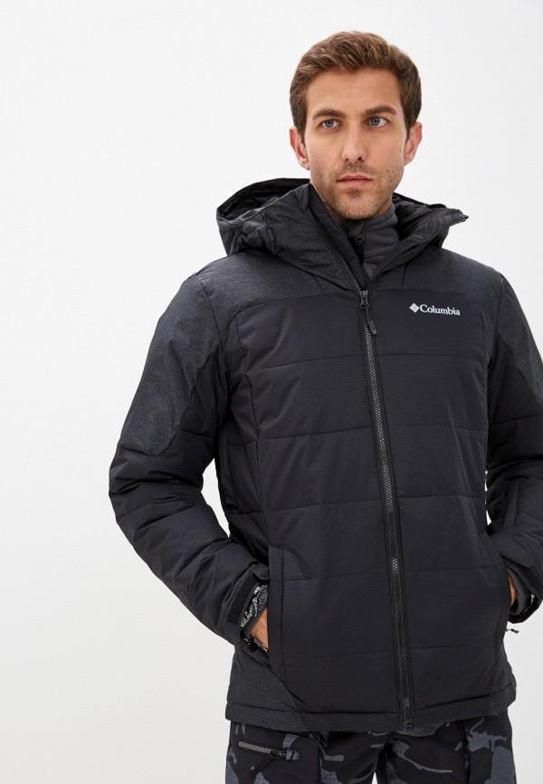 мужская спортивные куртка columbia, черная