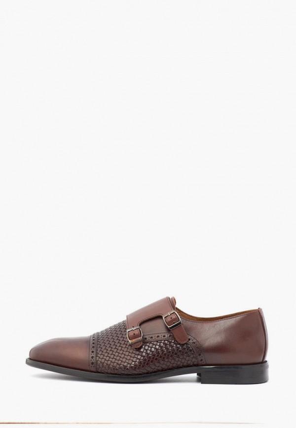 мужские туфли andreas moskin, коричневые