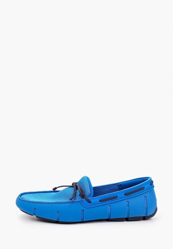 мужские мокасины swims, синие