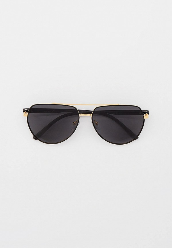 мужские авиаторы солнцезащитные очки vitacci, золотые