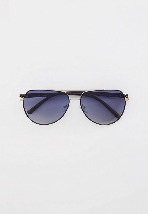 Очки солнцезащитные Vitacci серебрянного цвета