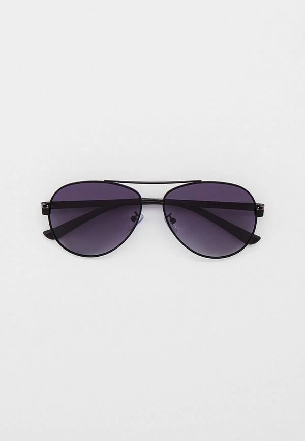 мужские авиаторы солнцезащитные очки vitacci, черные