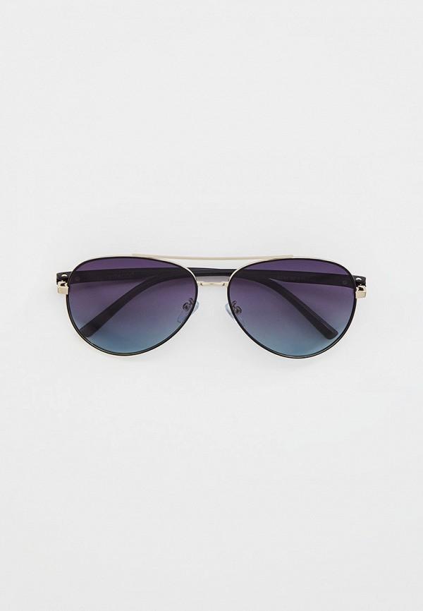 мужские авиаторы солнцезащитные очки vitacci, серебряные
