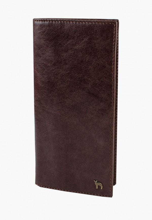 Кошелек Mumi. Цвет: коричневый