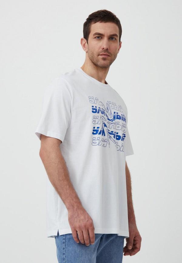 Футболка Finn Flare белого цвета