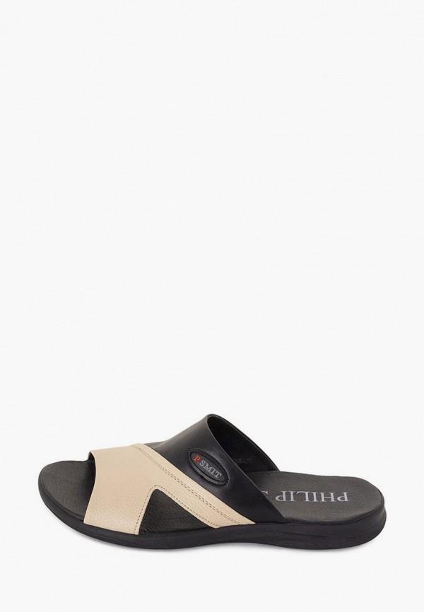мужские сандалии philip smit, бежевые