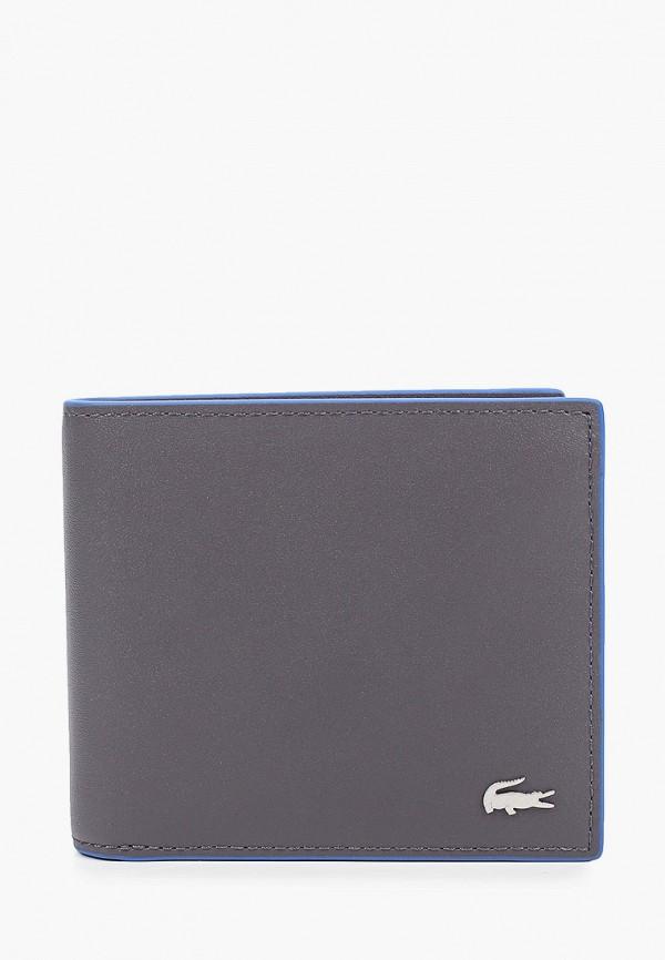 Кошелек Lacoste Lacoste  серый фото