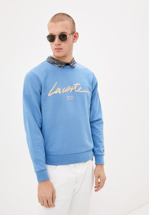 Свитшот Lacoste Lacoste  голубой фото