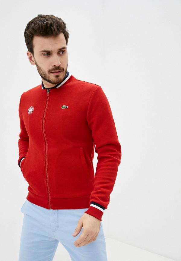 Олимпийка Lacoste Lacoste  красный фото