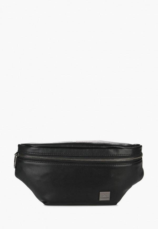мужская сумка luxon, черная