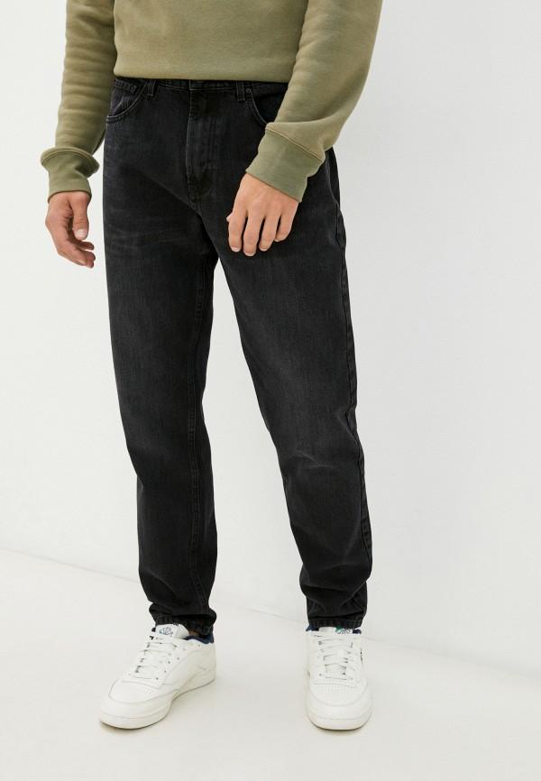 мужские зауженные джинсы gloria jeans, черные
