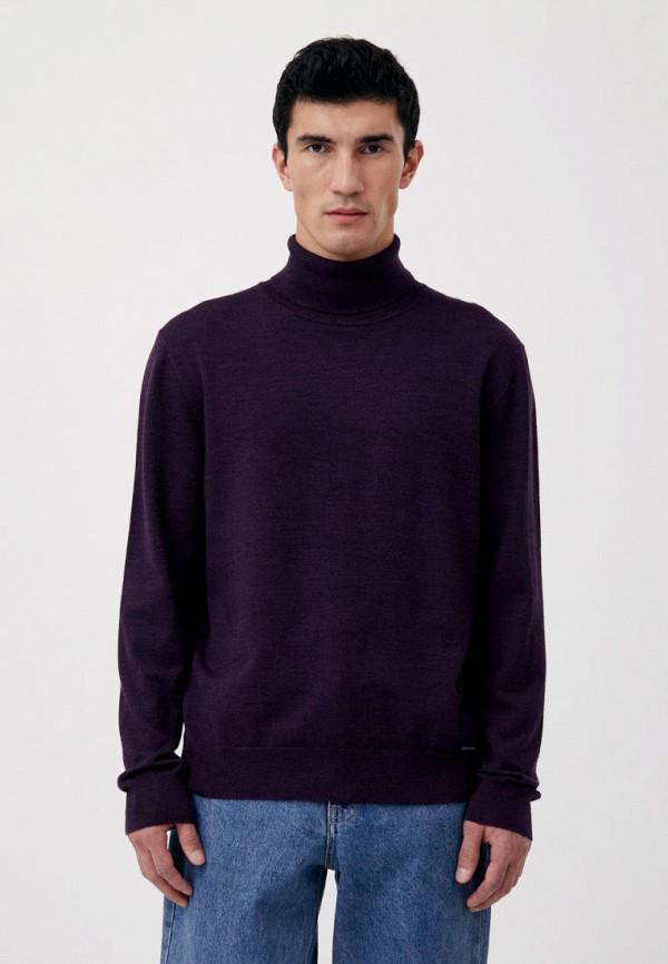 мужская водолазка finn flare, фиолетовая