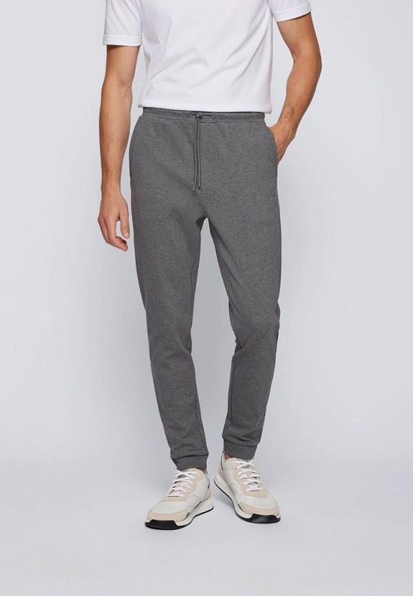 мужские брюки джоггеры boss, серые