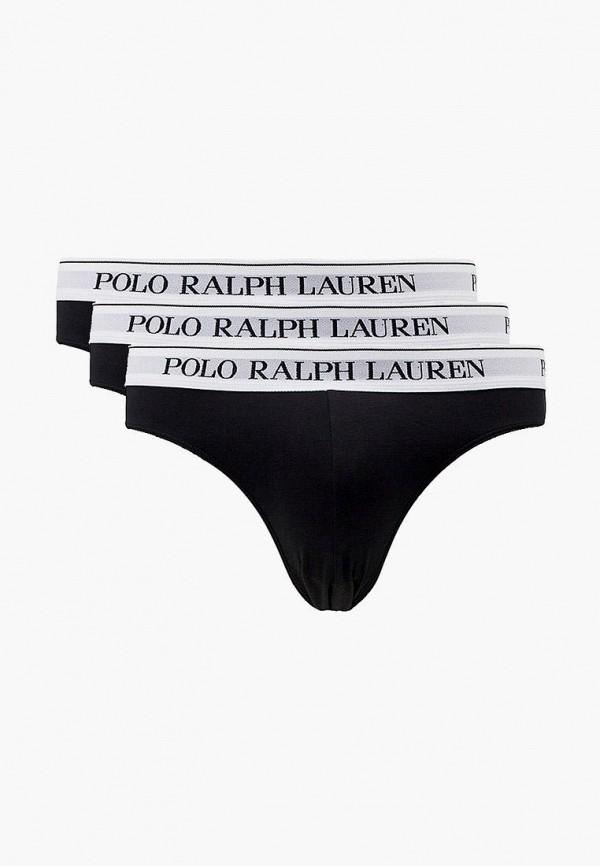 мужские трусы polo ralph lauren, черные