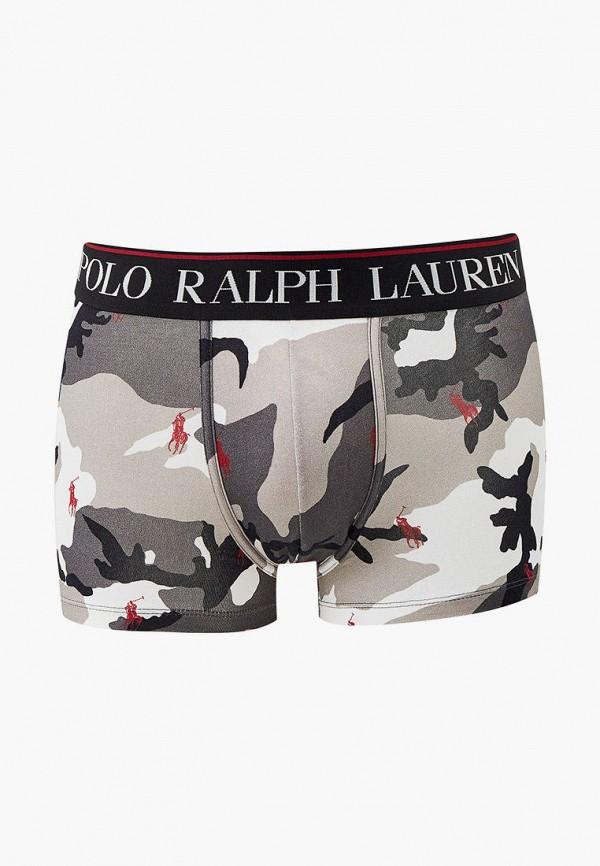 мужские трусы-боксеры polo ralph lauren, серые
