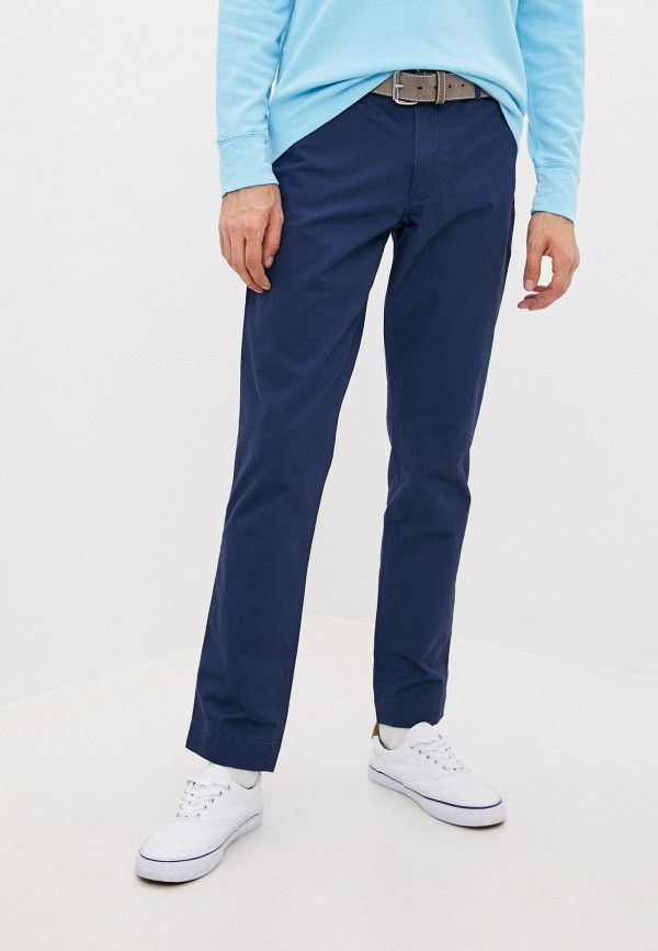 мужские повседневные брюки polo ralph lauren, синие
