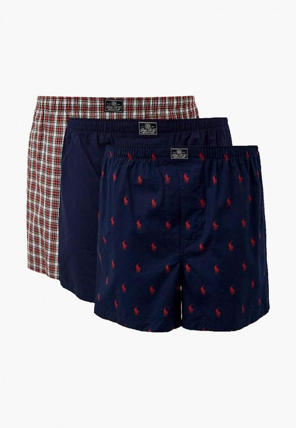 мужские трусы-шорты polo ralph lauren, разноцветные