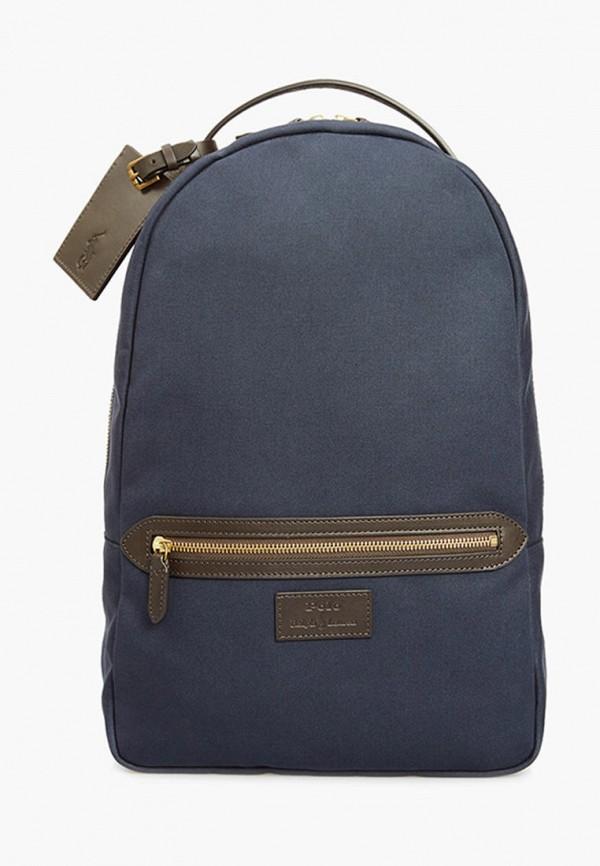 мужской рюкзак polo ralph lauren, синий