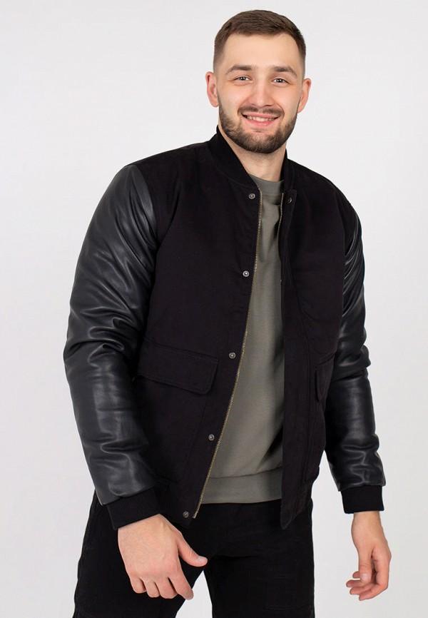 мужская куртка feel and fly, черная