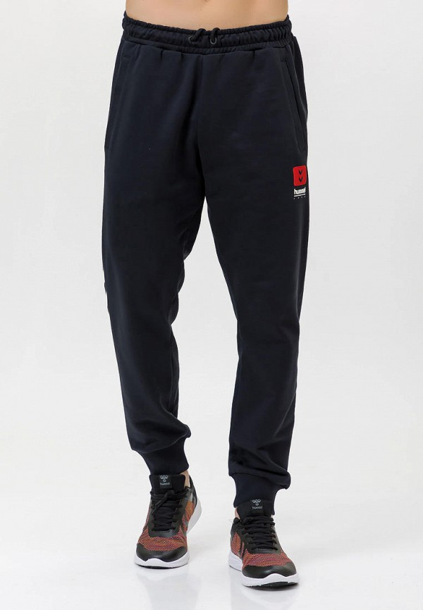 мужские спортивные брюки hummel, черные