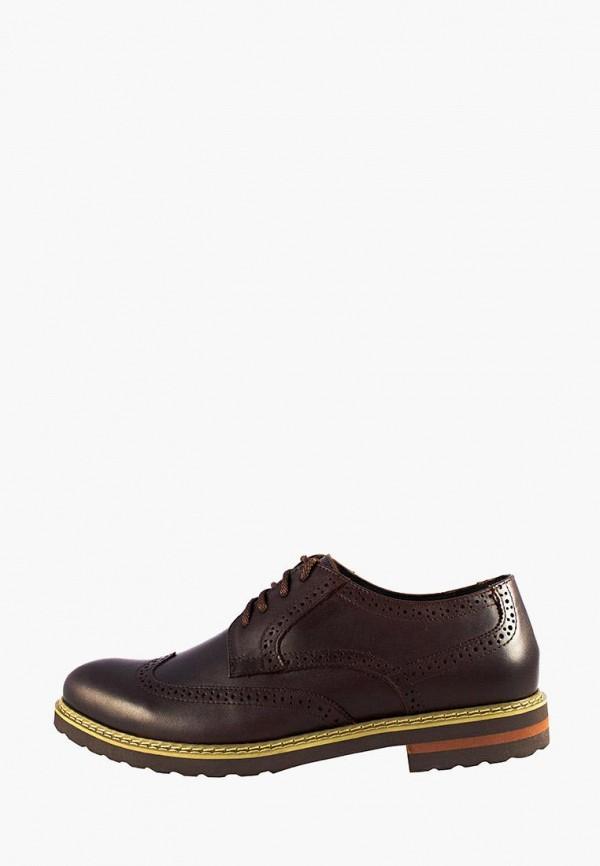 мужские туфли faber, коричневые