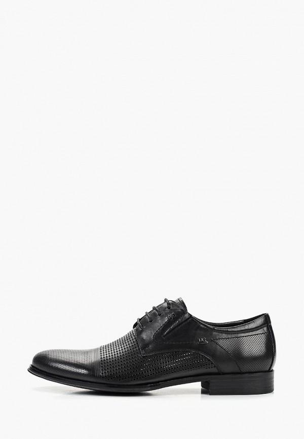 мужские туфли dino ricci, черные
