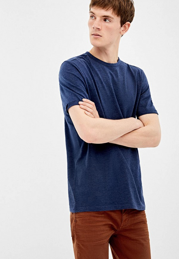 мужская футболка springfield, синяя