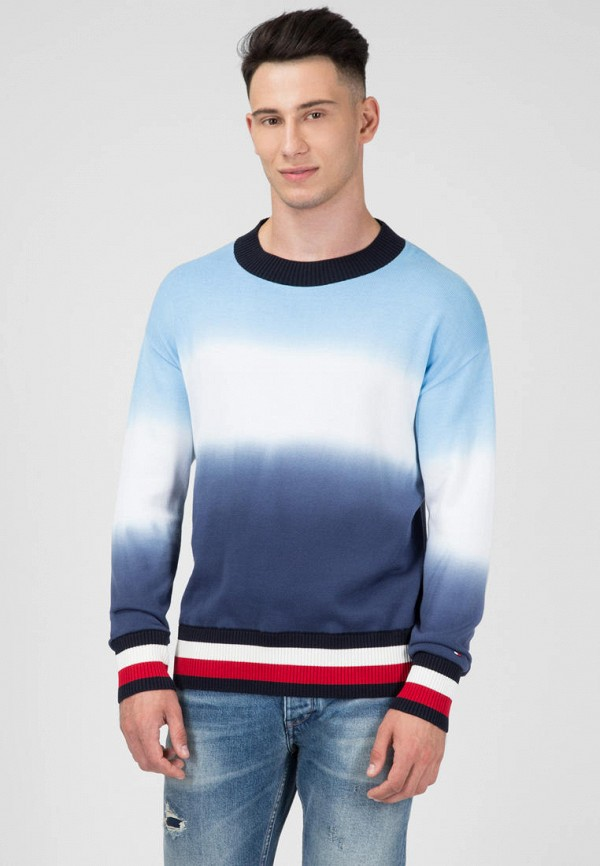 мужской джемпер tommy hilfiger, синий