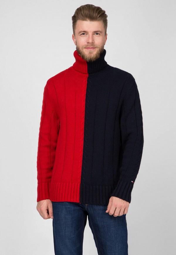 мужской свитер tommy hilfiger, разноцветный