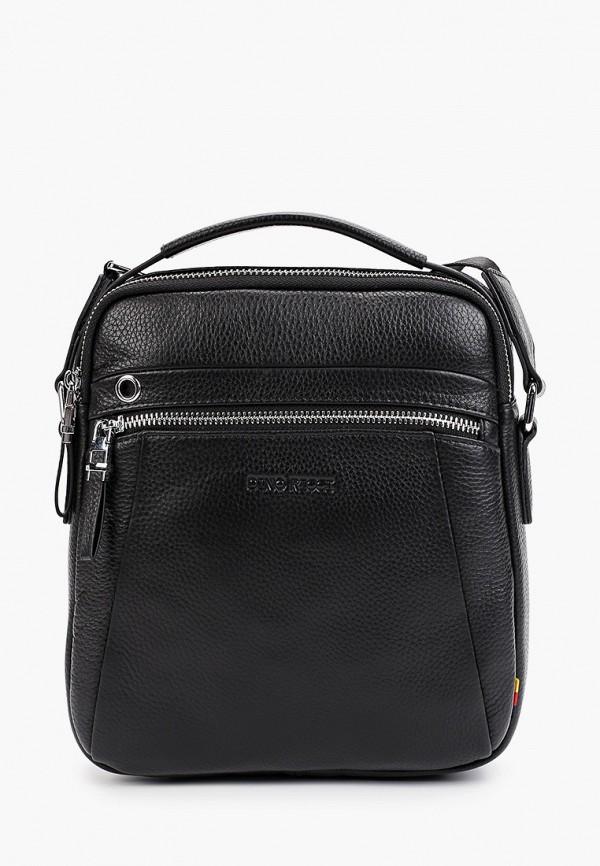 мужская сумка dino ricci, черная