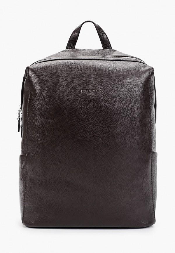мужской рюкзак dino ricci, коричневый