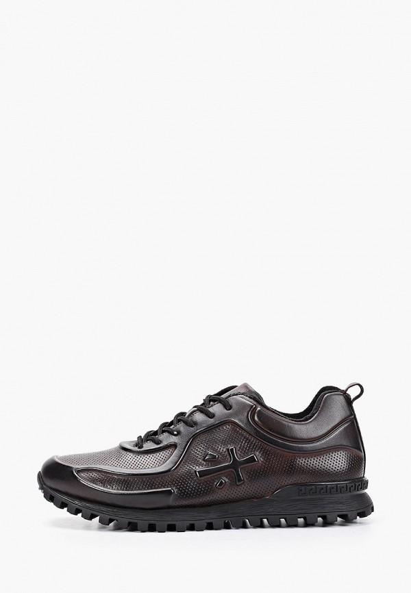 мужские кроссовки dino ricci, бордовые