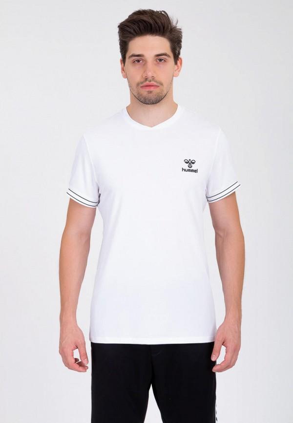 мужская спортивные футболка hummel, белая