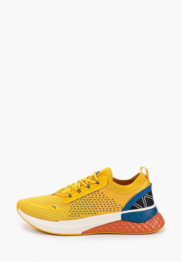 мужские кроссовки anta, желтые