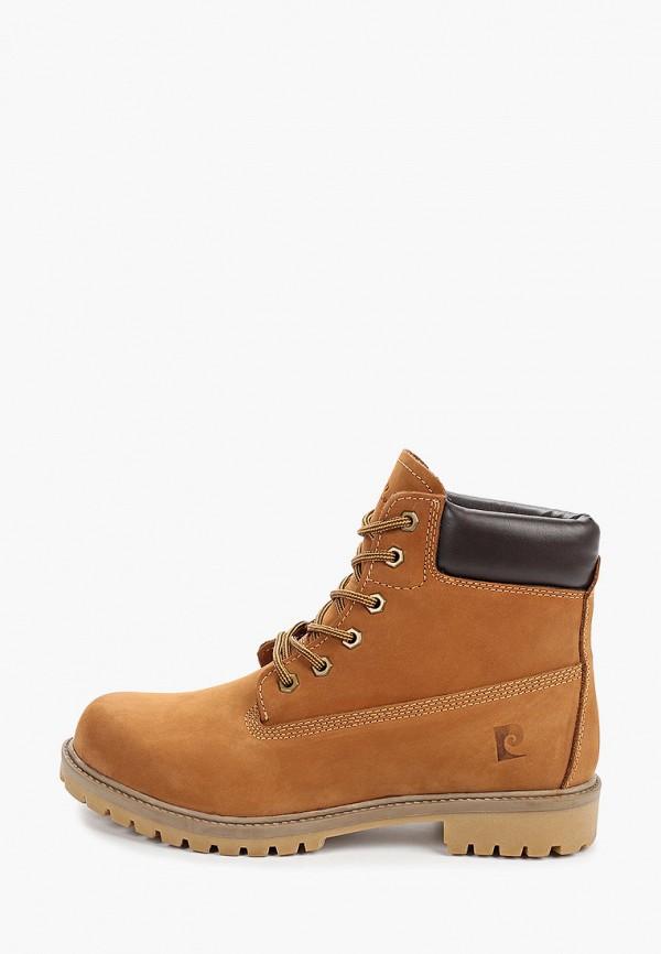 мужские ботинки pierre cardin, бежевые