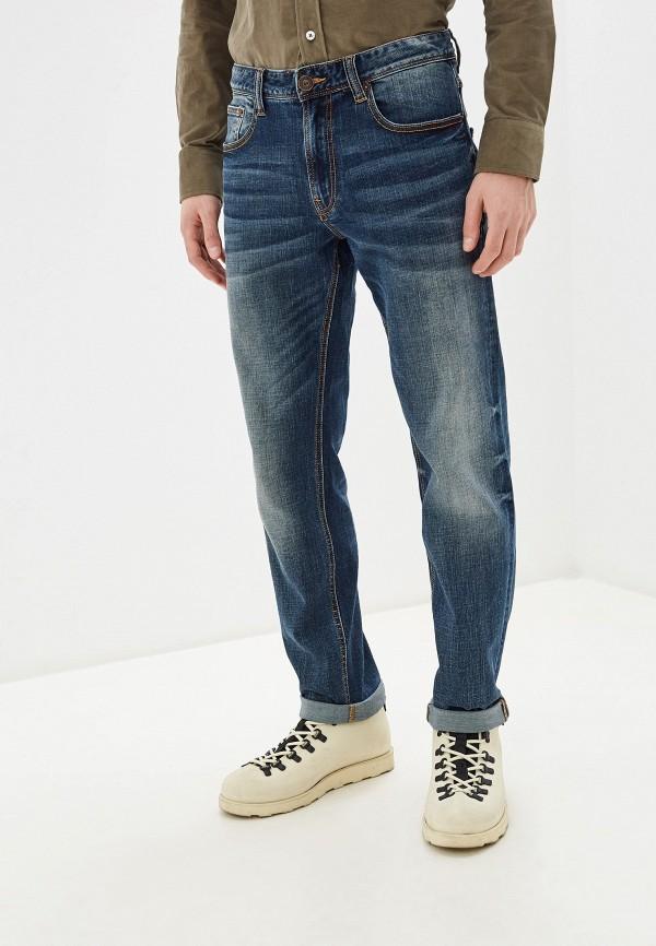 мужские зауженные джинсы tom farr, синие