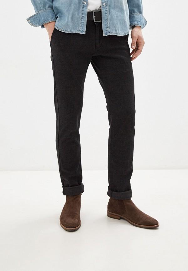 мужские повседневные брюки tom farr, черные