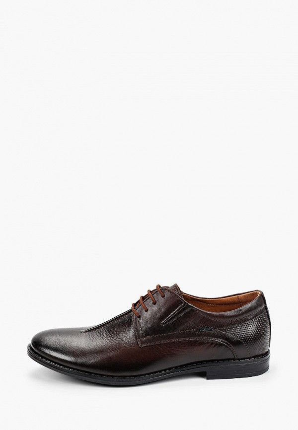 мужские туфли-дерби alessio nesca, коричневые