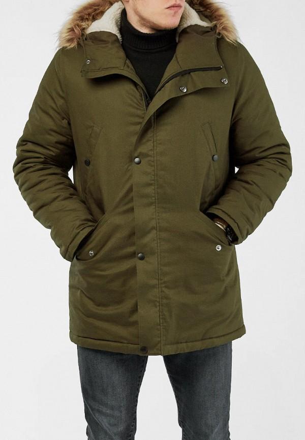 мужская куртка react, зеленая