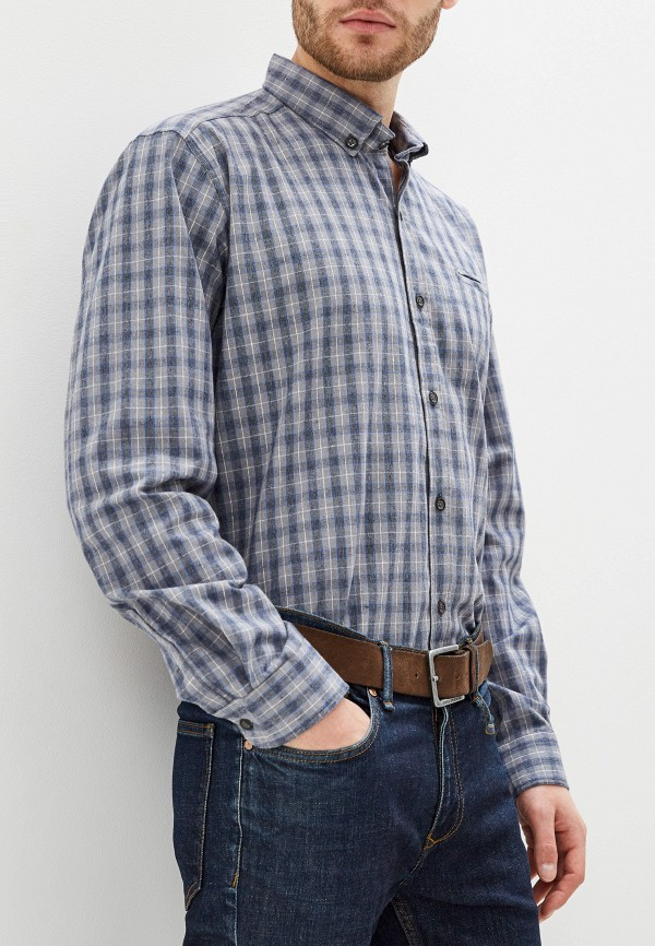 Фото - Мужскую рубашку Paspartu серого цвета