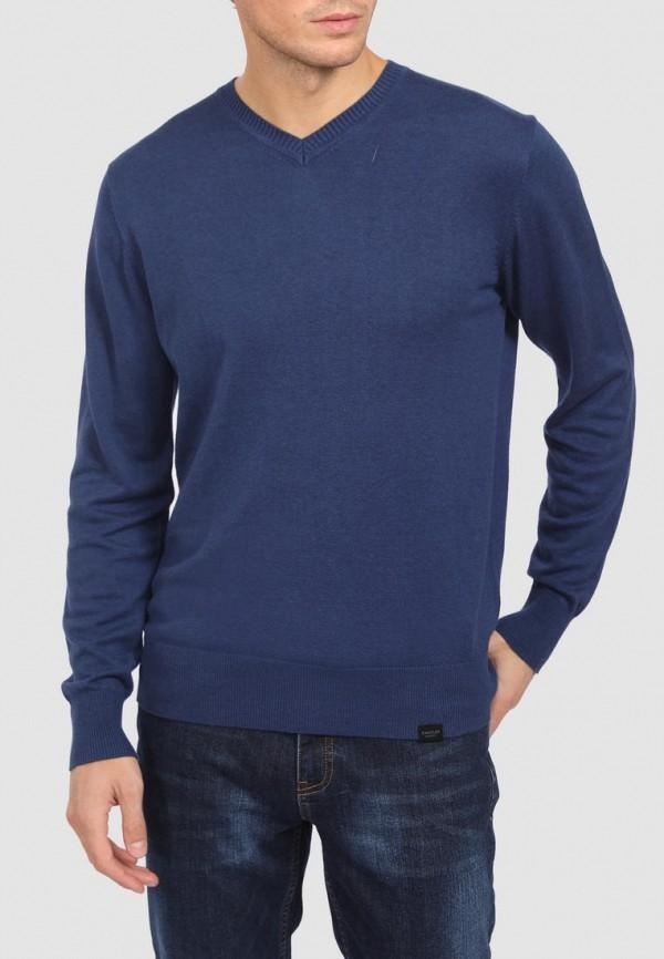 Пуловер Kanzler синего цвета
