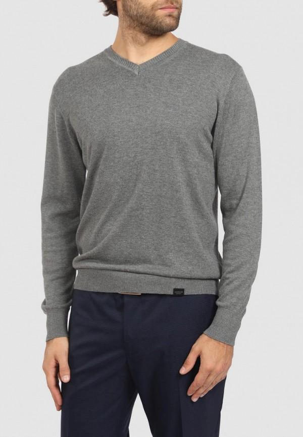Пуловер Kanzler серого цвета