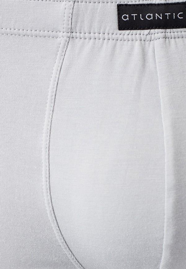 Трусы Atlantic Bamboo Shorts, цвет серый, размер 48. Цена: 879 р. Коллекция: Весна-лето 2020, Осень-зима 2019/2020, Пол: men, Сезонность: мульти, Страна-изготовитель: Китай - фото 2