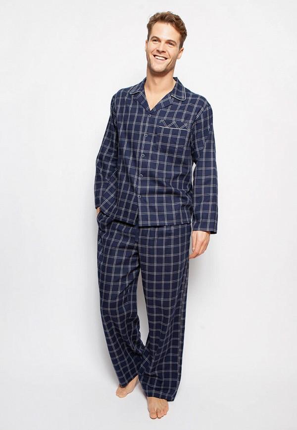 мужская пижама cyberjammies, синяя