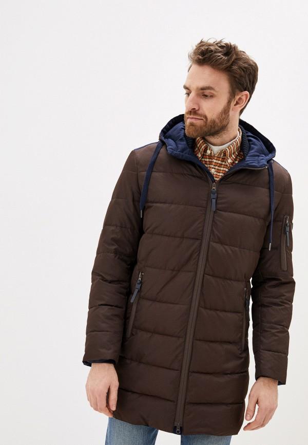 Куртка утепленная Absolutex коричневого цвета