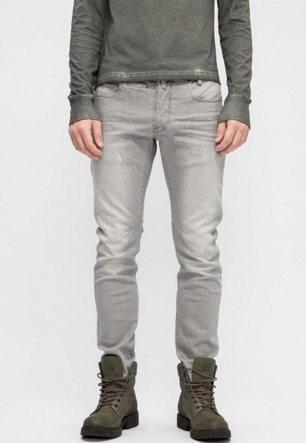 мужские прямые джинсы g-star raw, серые