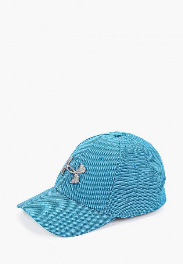 мужская бейсболка under armour, голубая