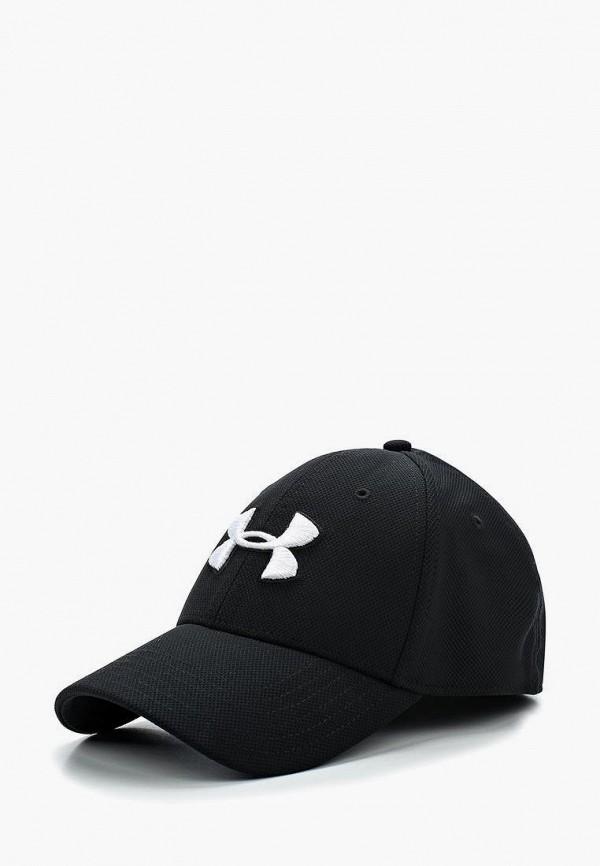 мужская бейсболка under armour, черная